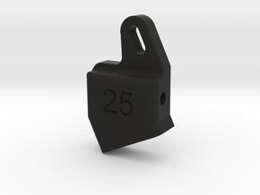 25LB in Black Natural Versatile Plastic
