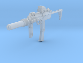 1/12th MP7 tactical 1 in Smoothest Fine Detail Plastic