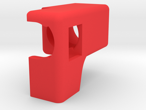 Classice Chrome Air Can Stopper in Red Processed Versatile Plastic
