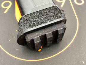 12 Round Base w/Rail for SIG P365 in Black PA12