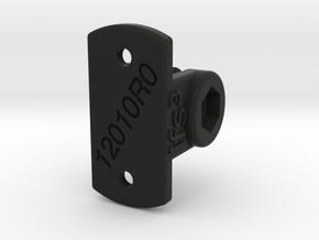 12010R0 Light-Mount Screws in Black Natural Versatile Plastic