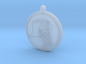 Ospray Animal Totem Pendant in Smooth Fine Detail Plastic