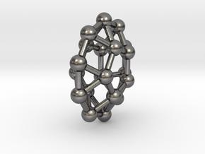 0805 J30 Pentagonal Orthobicupola (a=1cm) #3 in Polished Nickel Steel