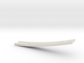 Motorway 4 Bridge (A) with cars 1:1000 scale in White Natural Versatile Plastic