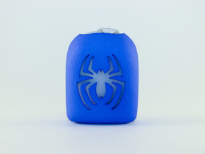 Spider - Omnipod Pod Cover in Blue Processed Versatile Plastic