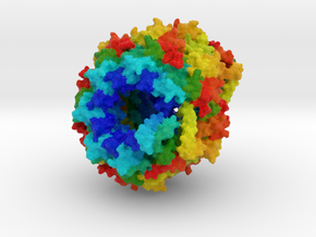 Caseinolytic Protease in Natural Full Color Sandstone