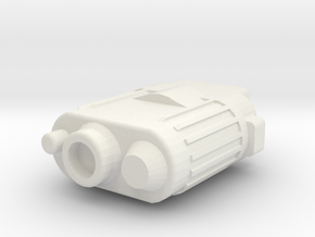 Stormy Basic Binoculars in White Natural Versatile Plastic