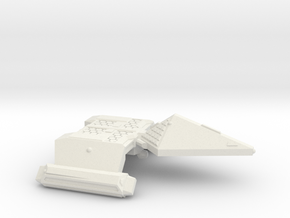 3125 Scale Neo-Tholian Destroyer SRZ in White Natural Versatile Plastic
