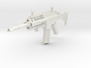 Insanity M4 Rifle in White Natural Versatile Plastic