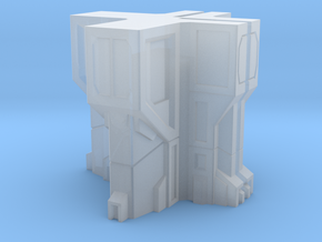 Sci fi building module terrain in Smooth Fine Detail Plastic