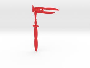 Acroblade Rifle in Red Processed Versatile Plastic