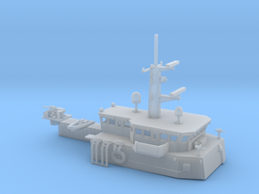 HMCS Kingston, Details (1:350,  static) in Smooth Fine Detail Plastic