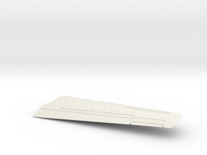 Grumman-E-1B-96Scale-09B-Wing-Right-Up in White Natural Versatile Plastic