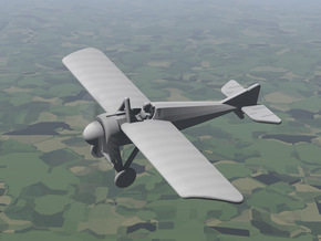 Morane-Saulnier Type N in White Natural Versatile Plastic: 1:144