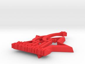 Viva Revolution - original pendant Pin  badge in Red Processed Versatile Plastic: Small