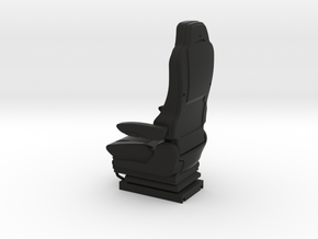 GRAMMER Truck seat RHD type 1/14 scale for R/C mod in Black Natural Versatile Plastic