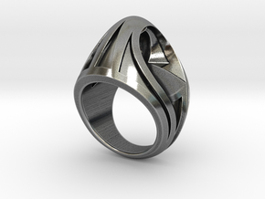 Portal Ring - Size 12 (21.39 mm) in Antique Silver