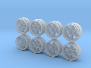 Buddy Club P1 QF 9 Hot Wheels Rims in Smoothest Fine Detail Plastic