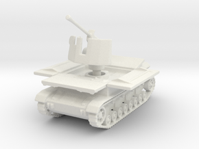 Mobelwagen 37mm early fire pos. 1:87 in White Natural Versatile Plastic