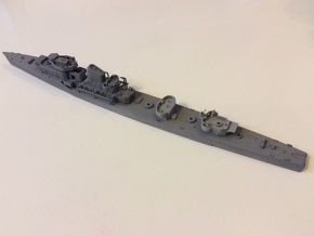 1/350 Project 7 - Gnevny Destroyer After Sup. in Smooth Fine Detail Plastic
