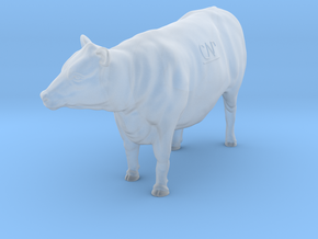 1/32 Yearling Heifer 05 in Smooth Fine Detail Plastic