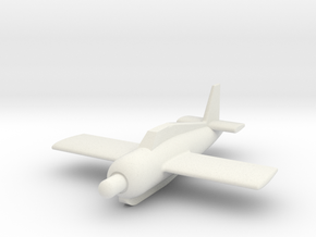 (1:144) DVL Rammer Aircraft Project in White Natural Versatile Plastic
