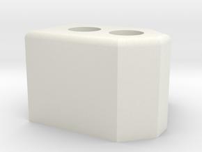 chameleon xt 60 front mount in White Natural Versatile Plastic