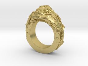 Bigfoot Ring in Natural Brass: 6.5 / 52.75