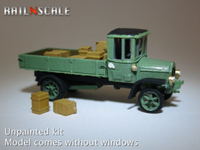 Daimler DR4 1/2 Marienfelder - open (N 1:160) in Smooth Fine Detail Plastic