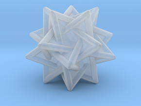 Tetrahedra Compound in Smooth Fine Detail Plastic