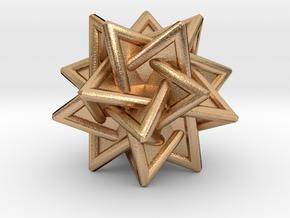 Tetrahedra Compound in Natural Bronze
