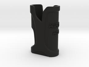 "Squonk mod ""MirTon: _ Sleeve in Black Natural Versatile Plastic"