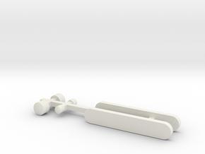N1 Zielschild und Scheinwerfer für Beleuchtung. in White Natural Versatile Plastic