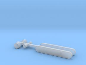 N1 Zielschild und Scheinwerfer für Beleuchtung. in Smooth Fine Detail Plastic