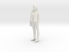 Printle C Femme 088 - 1/12 - wob in White Natural Versatile Plastic