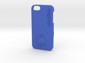 iPhone 5S & SE Garmin Mount Case - 90deg in Blue Processed Versatile Plastic