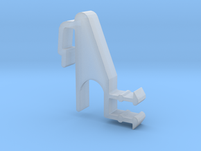 Blind Valance Clip 09R in Smooth Fine Detail Plastic