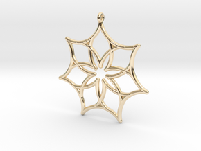 Seven Astroids in 14K Yellow Gold