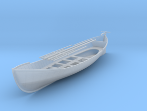 1/72 US 28ft Whaleboat in Smooth Fine Detail Plastic