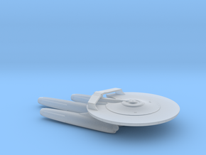 USS Armstrong NCC-1769 - Attack Wing / 5cm - 2in in Smooth Fine Detail Plastic