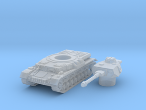 panzer IV G scale 1/160 in Smooth Fine Detail Plastic