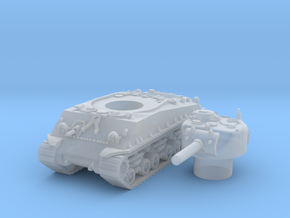 M4A3 105mm scale 1/160 in Smooth Fine Detail Plastic