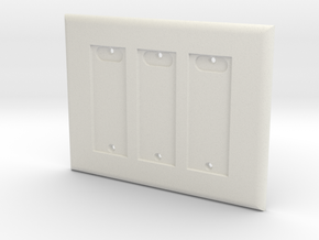 Philips HUE Triple Dimmer Plate 3 Gang in White Natural Versatile Plastic