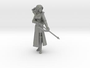 Elf Cleric in Gray Professional Plastic