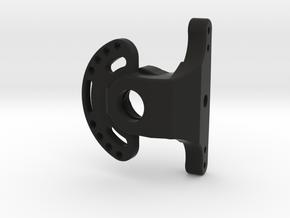 AR60 KNUCKLE-all-in-one-0offset-V3 in Black Natural Versatile Plastic