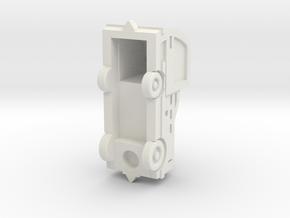 Comet3E tractor in White Natural Versatile Plastic: 1:87 - HO