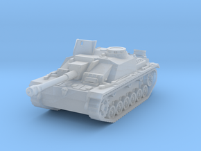 StuG III G early scale 1/160 in Smooth Fine Detail Plastic