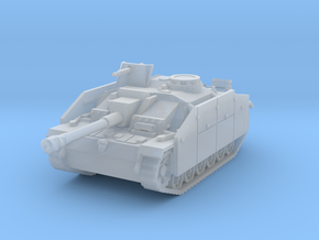 StuG III G early (skirts) scale 1/100 in Smooth Fine Detail Plastic