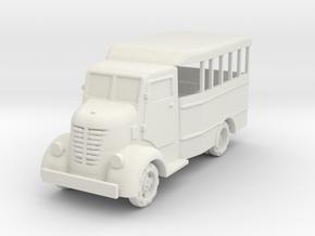 Nissan 80 bus 1:100 in White Natural Versatile Plastic