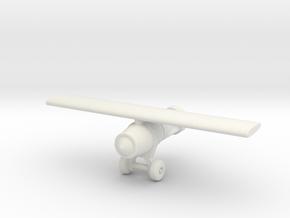 (1:144) SC 1000 bomb im schlepp in White Natural Versatile Plastic